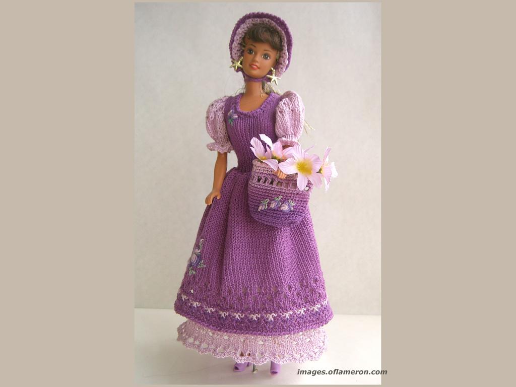 Костюм на куклу барби